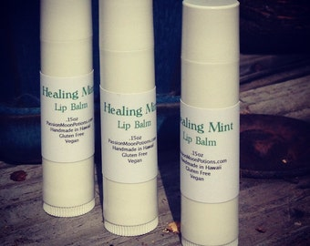 Spearmint Healing Lip Balm