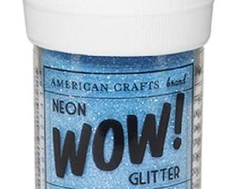 Glitter glitter WOW NEON - color OCEAN