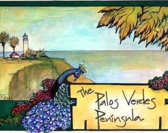 Palos Verdes Peninsula greeting card