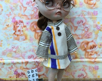 Blythe Vintage 'Secretary's Dress' True Vintage Custom Clothing