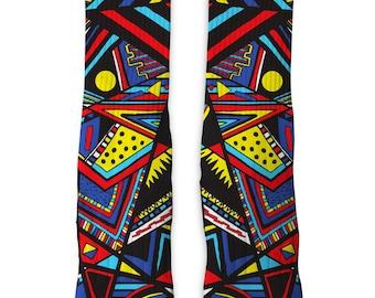 Custom Autism Tribal SS Athletic Socks