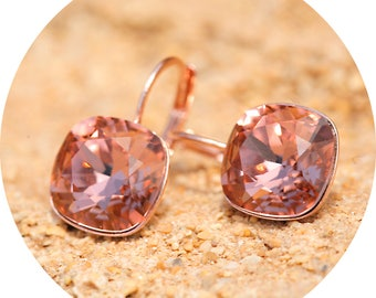 artjany blush Rosé earrings