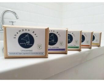 Organic Dog Shampoo Bar. Pointy Faces Hypoallergenic Soap Bar for Dogs.  80g / 2.82 oz