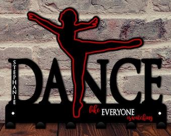 Dance Medal Holder / Ballet Medal Display / Dance Award Hooks