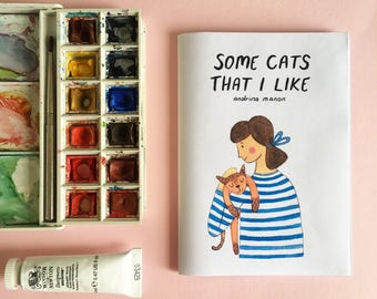 Some Cats That I Like - A6 Zine