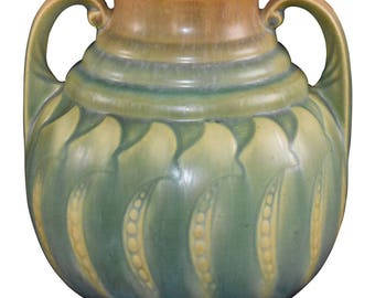 Roseville Pottery Falline Blue Vase 648-7