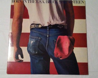Born in the USA. Bruce Springsteen.
