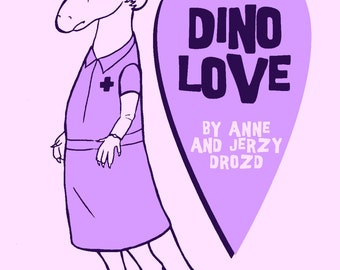 Dino Love mini-comic