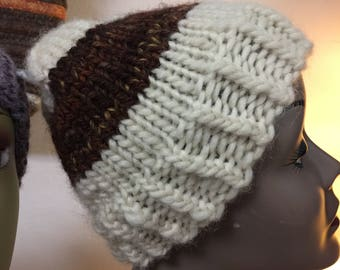 Hand Knit Bulky Hat