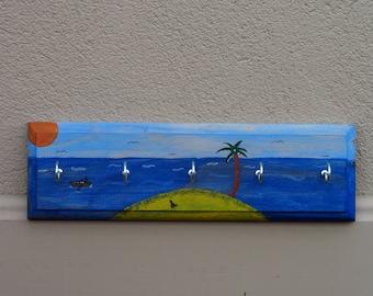 Island paradise key rack