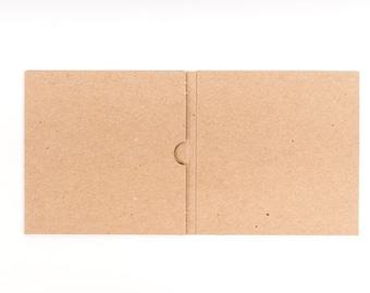 100 Cd Sleeve| Wedding Cd| Wedding Favor| Cd Case| Cd Sleeve| Cd| Kraft Cd Sleeves| Kraft Paper| Kraft Cd Sleeves| Kraft Paper| Cd Sleeve