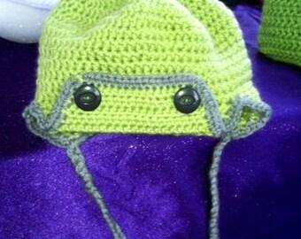 Adorable aviator hat