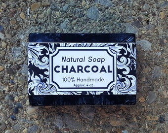Activated Charcoal | Natural Bar Soap