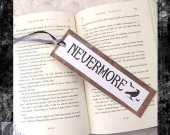 Nevermore Bookmark || Edgar Allen Poe