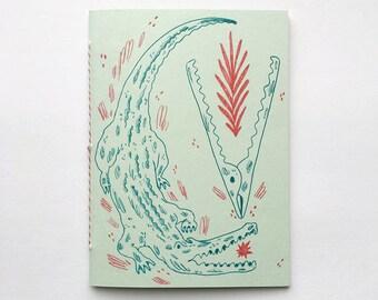 Alligator Clips Blank Sketchbook