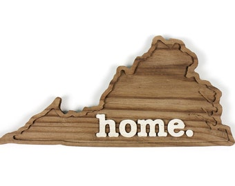 Virginia home. Rough Cut Mill Wood Wall Hanging