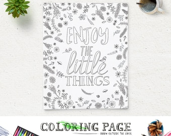 Coloring Page Oscar Wilde Printable Quote Instant Download Art