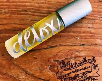 Adult Detoxification Blend Rollerbottle // gift for her