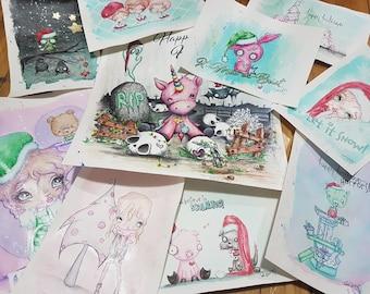 Christmas Card Sets 2017 - 10 Brand New Designs!