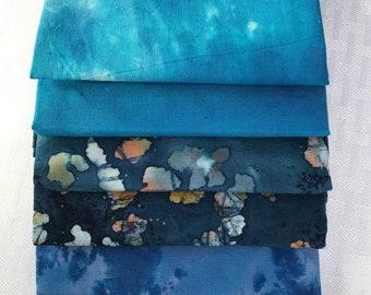Blue Fat Quarter Bundle