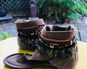 BoHo gypsea Sandals SIZE  8/9