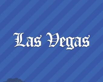 Vegas Car Decal Etsy - Custom vinyl decals las vegas