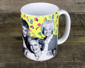Golden Girls MUG dorothy blanche rose sophia Thank You for Being a Friend gifts for HER gay icons Pride Coworker gift