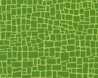 Grass Green Dinosaur Skin from Robert Kaufman's Dinoroar Collection by Sea Urchin Studios