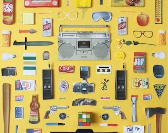 Stranger Things Poster, artwork by Jordan Bolton