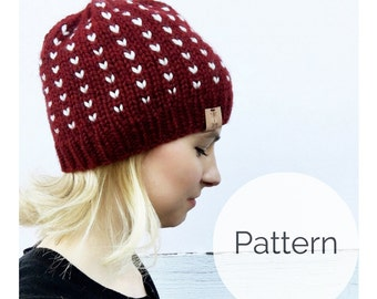 Knitting Pattern for the Northwest Beanie