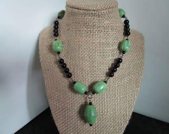 Black Pearl Necklace