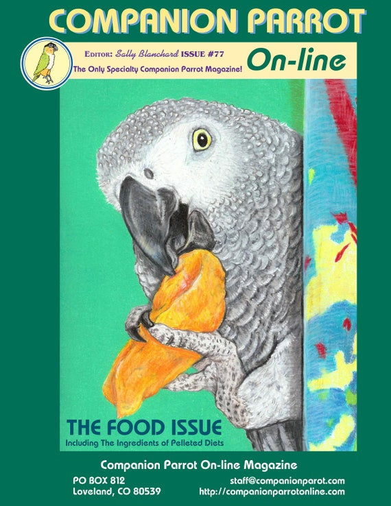 Companion Parrot Magazine .pdf  Issue #77 Covering Nutrition 90 pages