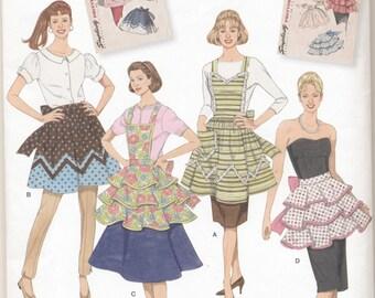 Simplicity Pattern 2592 Vintage Style Aprons S M L