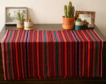 Vintage Colorful Ikat Textile/Throw from the island of Nusa Tengarra Timur