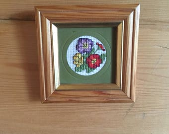 Small Wooden Cross Stitch Frame
