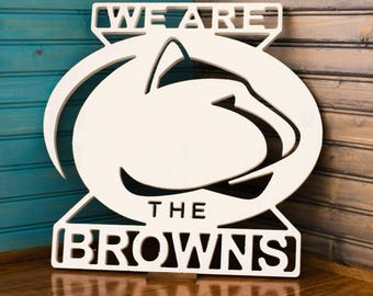 Free shipping Custom penn state  family sign, display while tailgating or just to show your pride