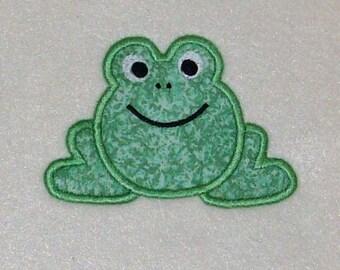 Instant Download Frog Embroidery Machine Applique Design-601