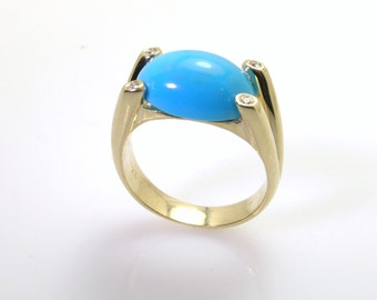 TURQUOISE RING .