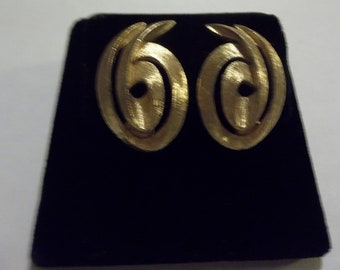 Goldtone Monet Earrings