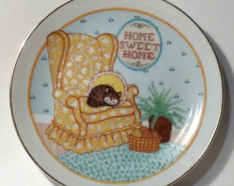 Lasting Memories Fine Porcelain Collector Plate - American Greetings 1983 - Home Sweet Home