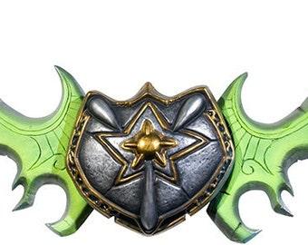 Lifesize Twin Blades of Azzinoth Cosplay Template Illidan Stormrage World of Warcraft