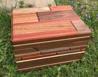 Wooden Heirloom Box