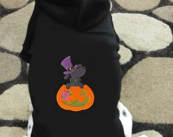 Dog - Lantern Halloween Dog Hoodie Sweatshirt