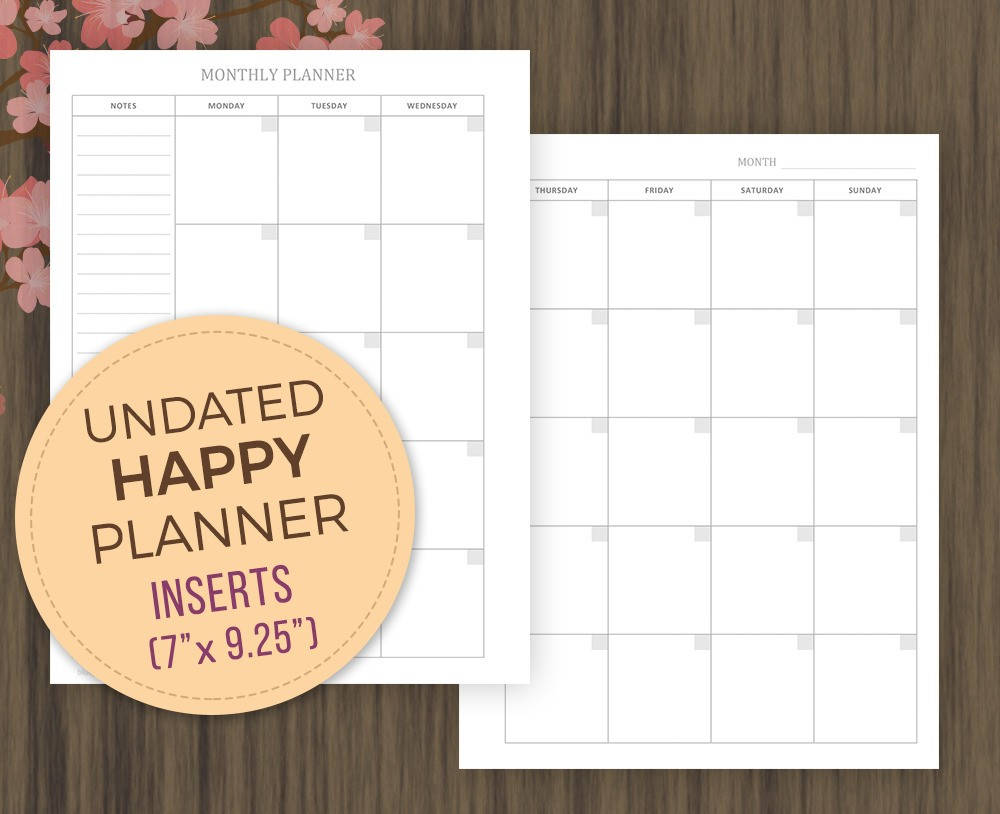 It is a picture of Gutsy Free Mini Happy Planner Printable Inserts