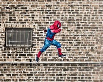 Spiderman Digital Backdrop