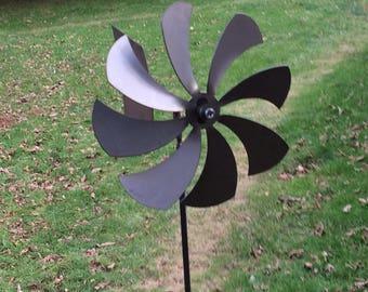 Garden Wind Spinner, Kinetic Wind Spinner, Metal Wind Spinner, Windmill,  Garden Spinner, Pinwheel