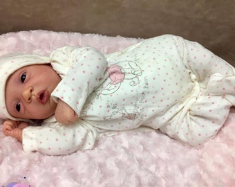 Reborn baby elodie. Custom made to order sculpt by Evelina Wosnjuk