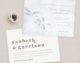 Wedding Invitations - Sample Pack