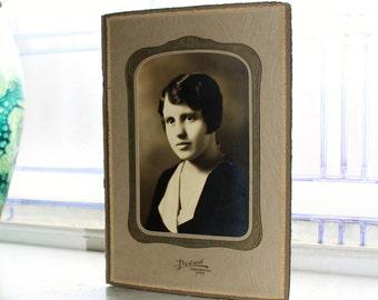 1920s Flapper Girl Photograph 9 x 6
