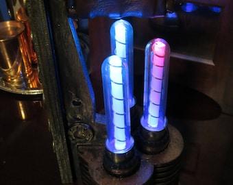 Steampunk Tesla tube Lantern, Time Machine Power Supply
